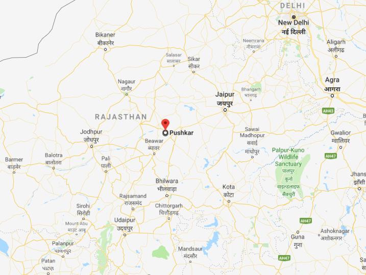 Pushkar dans l'Inde