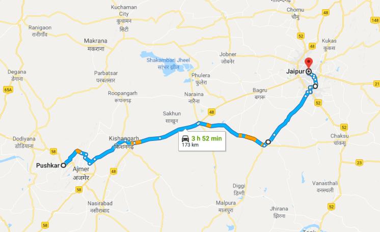 Rajaride, jour 11 – Pushkar à Jaipur