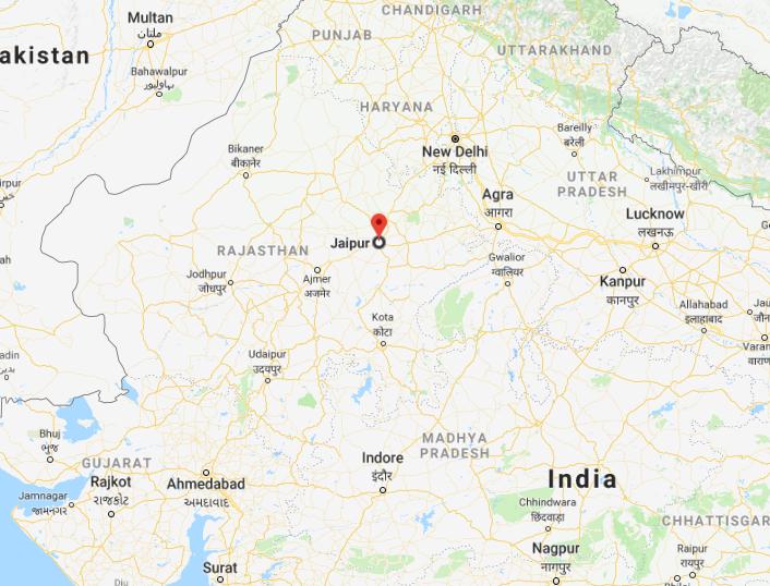 Jaipur dans l'Inde