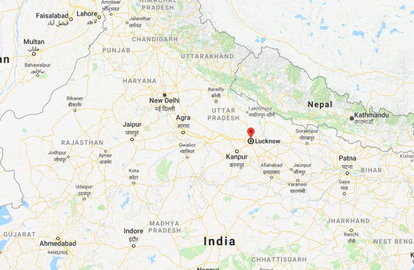 Lucknow dans l'Inde