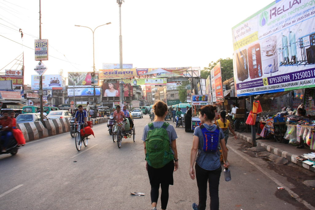 Rue de Lucknow, Inde