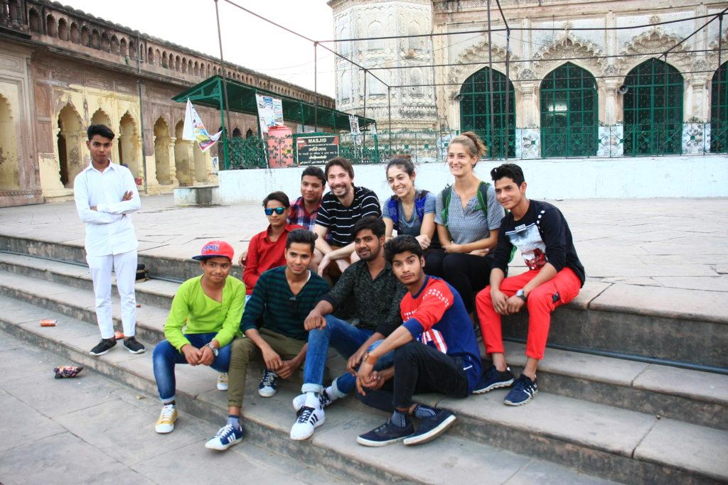 Séance de seflies au Bara Imambara, Lucknow, Inde