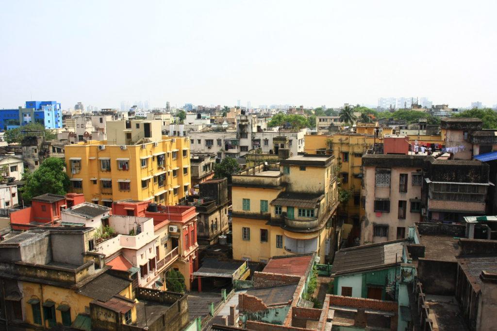 Vue de Kolkata, Inde