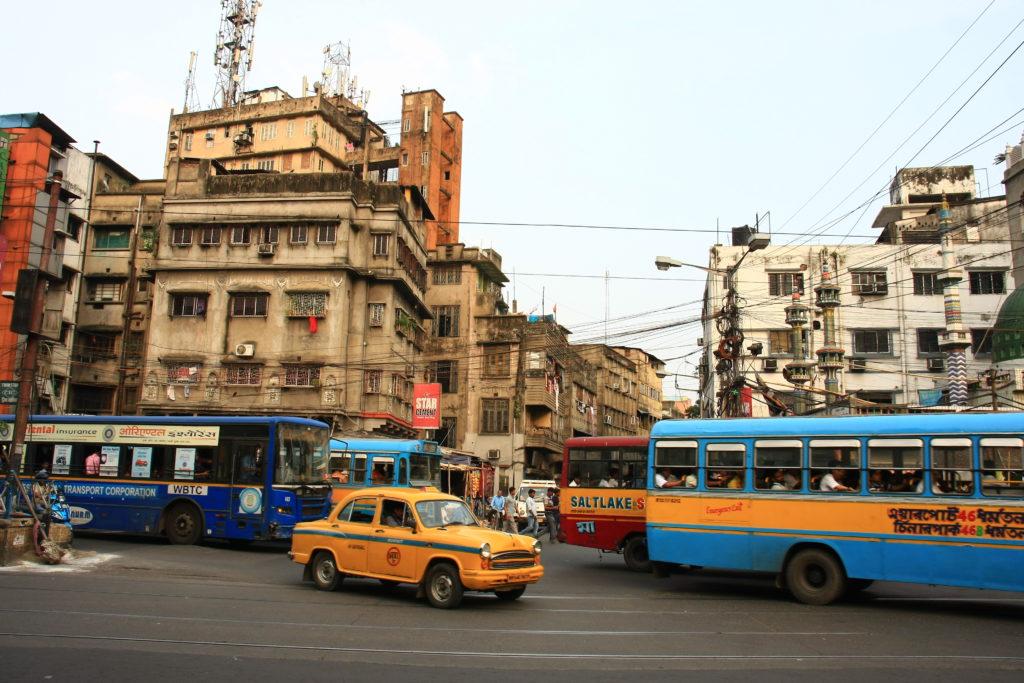 Rue de Kolkata, Inde