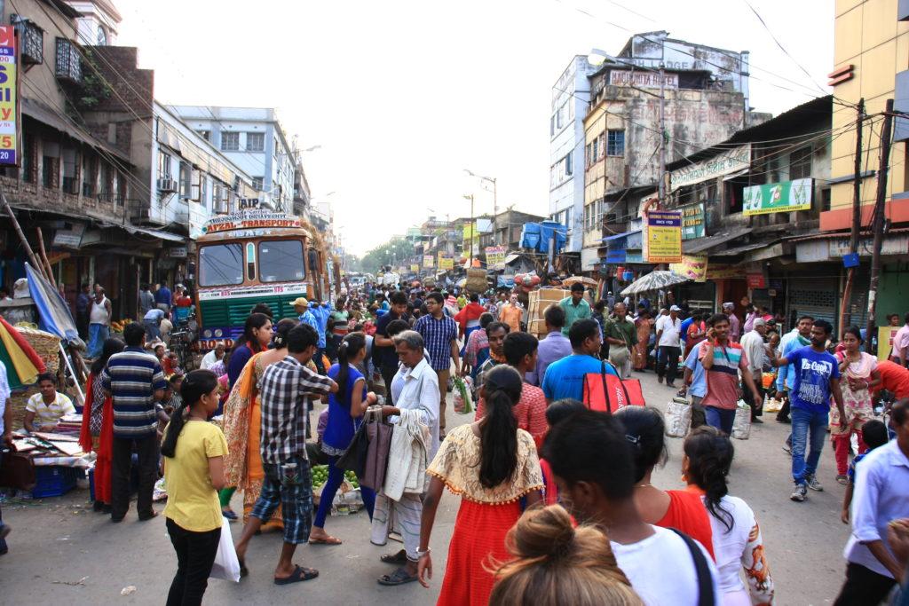 Marché de Kolkata, Inde