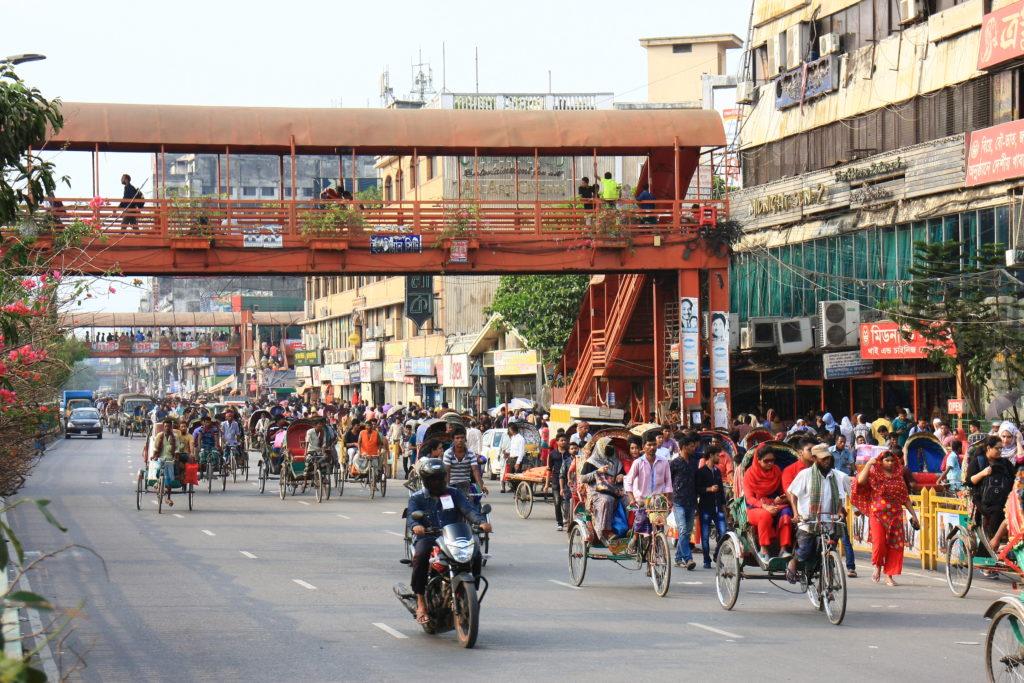 Rue de Dacca, Bangladesh