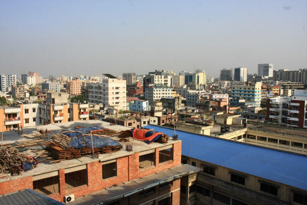 Vue de Dacca, Bangladesh