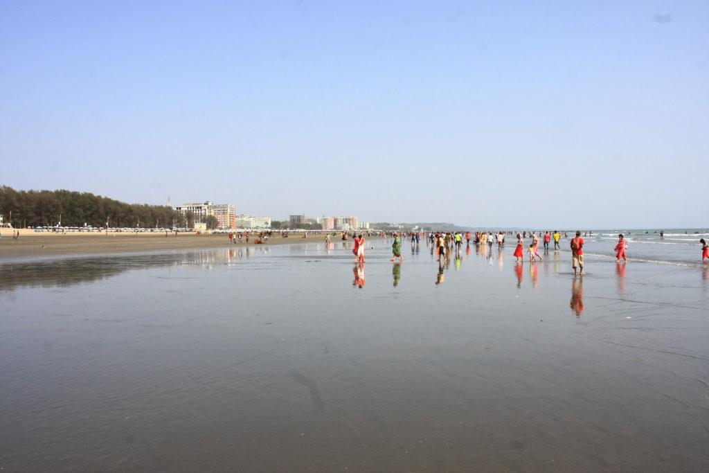 Plage de Cox's Bazar, Bangladesh