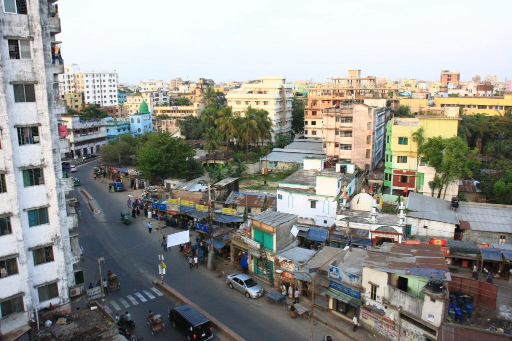 Vue de Chittagong, Bangladesh