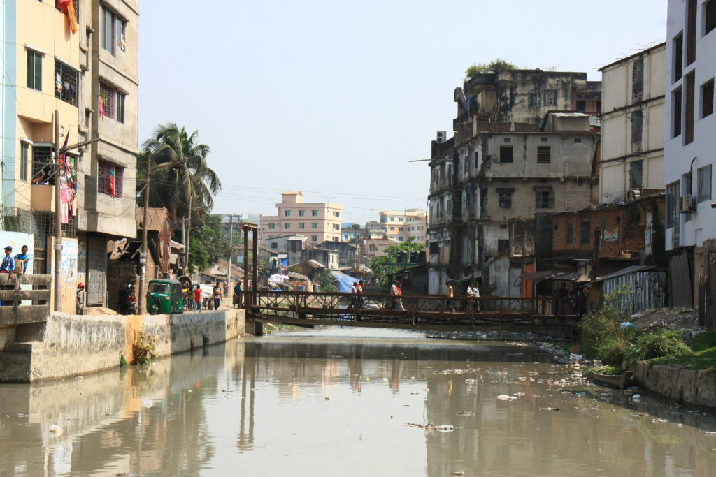 Canal de Chittagong, Bangladesh