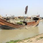 Bateau de pêcheur, Chittagong, Bandladesh