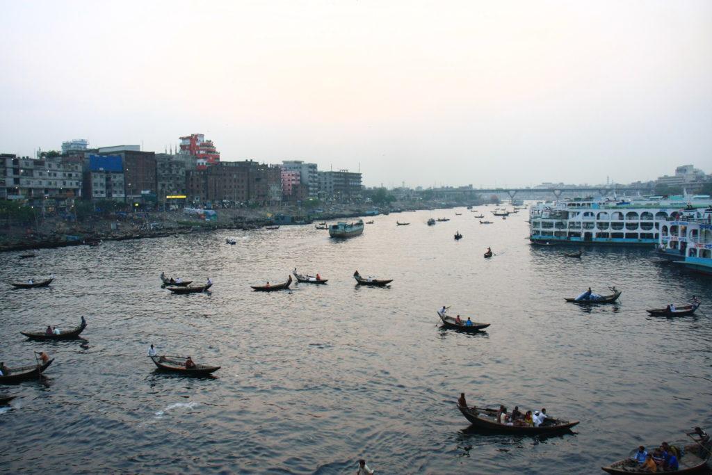 Fleuve Buriganga, Dacca, Bangladesh