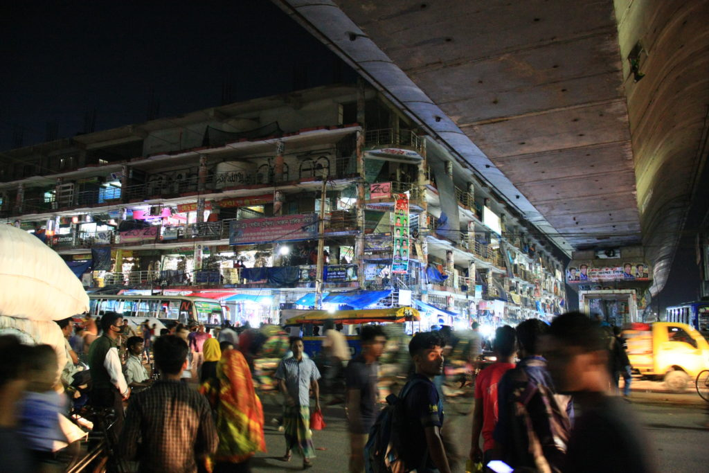 Rue du vieux Dacca, Bangladesh