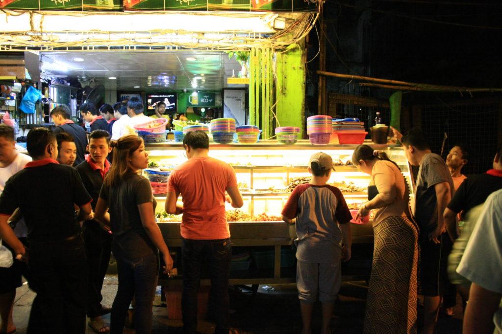 Comptoir BBQ, Rangoun, Myanmar