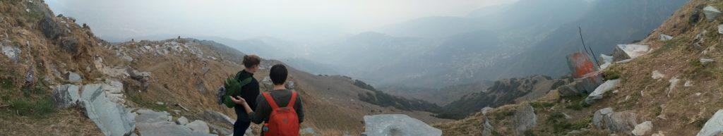 Panorama, McLeod Ganj, Himachal Pradesh, Inde