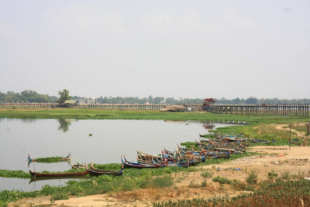 Pont U-Bein, Mandalay, Myanmnar