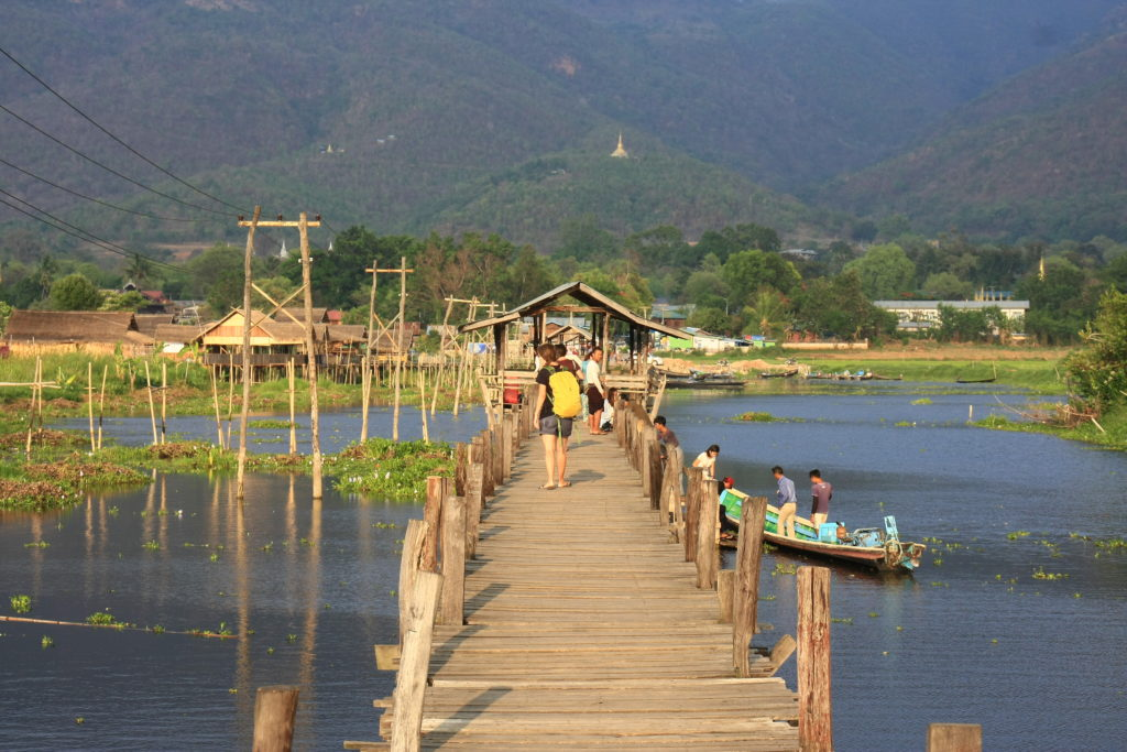 Pont, Lac Inle, Myanmar
