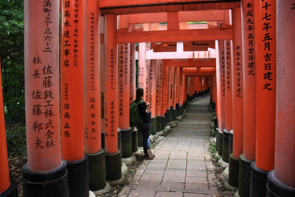 Fushimi-inari, Kyoto, Japon
