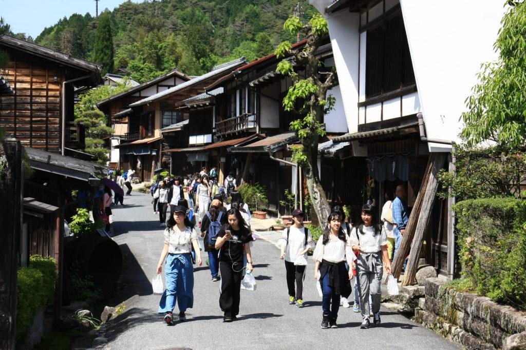 Tsumago-juku, Japon