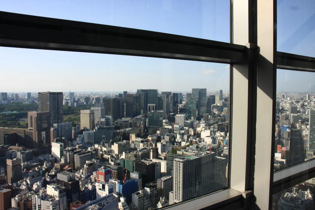 Vue de Ginza, Tokyo, Japon