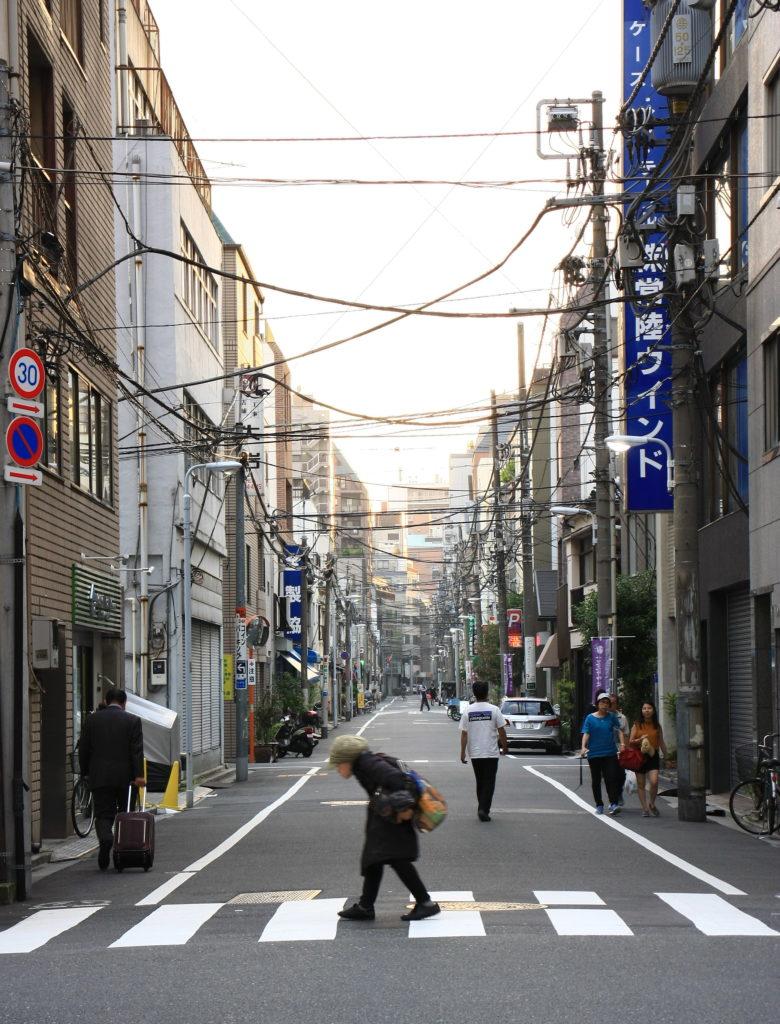 Rue de Tokyo, Japon