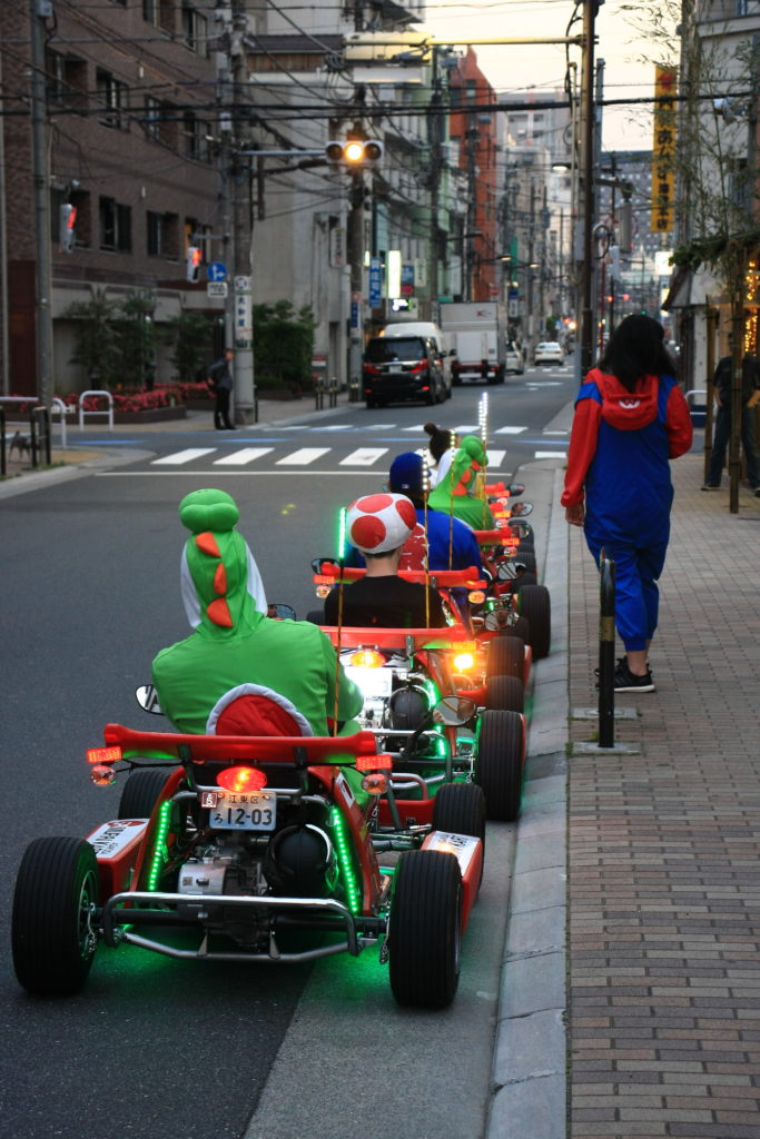 Mario Kart, Tokyo, Japon