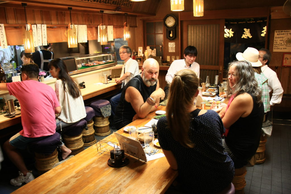Dernier repas, Tokyo, Japon