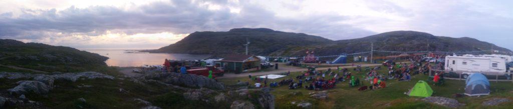 Panorama du festival folk