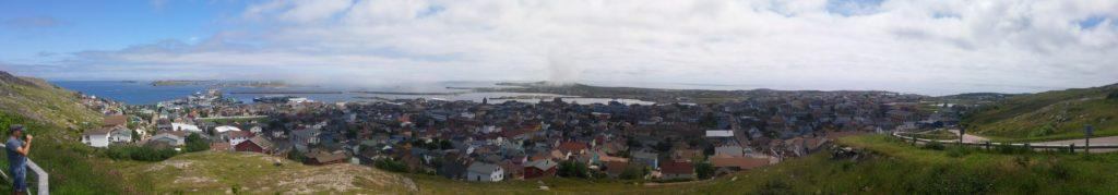 Panorama de Saint-Pierre