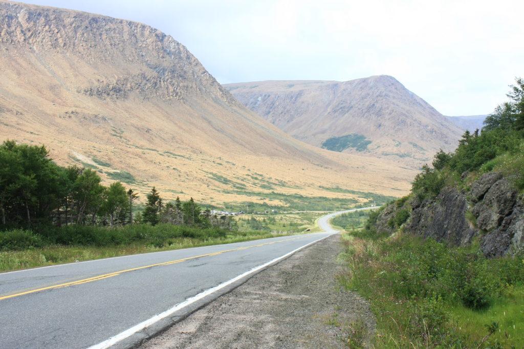Route vers les Tablelands