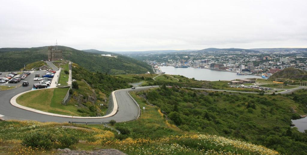 St-John's vu de Signal Hill