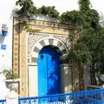 Une porte à Sidi-Bou-Said