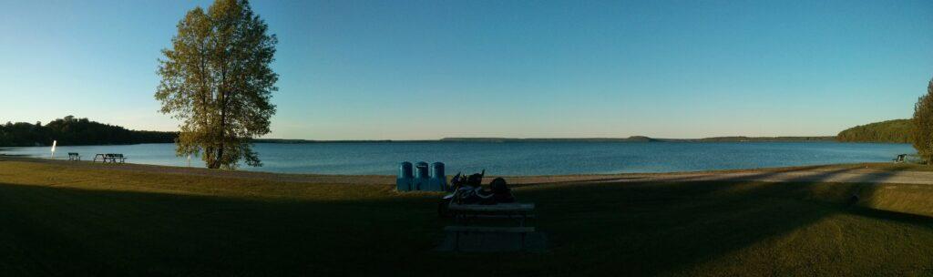 Le lac Mindermoya
